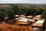 The outskirts west of Bamako