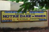 Catholic girls school Notre Dame du Niger, Bamako, Mali