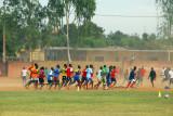Afternoon training, Heremakono Complexe Sporte, Bamako Mali