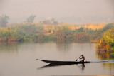 Pirogue on the Niger River, morning of 28 November 2006MaliNov06 913.jpg