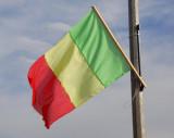 Flag of Mali, King Fahd Bridge, Bamako