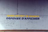 Mairie District de Bamako - Defense d'Afficher - Avenue de la Liberté underpass near the National Museum