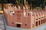 Another mosque model at the Mali National Museum