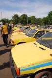 Taxis, Place de la Rébublique, Bamako