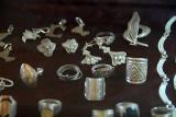 Silver jewellry, Maison des Artisans, Bamako, Mali