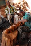 Woodcarver at work, Maison des Artisans