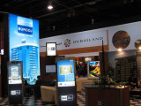 Dubailand booths at the 2007 Arabian Travel Mart, Dubai