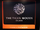 The Tiger Woods, Dubai