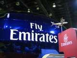 Emirates Airline booth at the Arabian Travel Mart 2007, Dubai