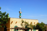 Mosque of in the village of Zanti-something (sign got cut off)