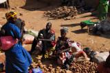 Market day in Marakacongo, a small village between Bamako and Segou