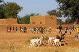 Village school east of Douentza, Mali