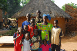 The family of Hamada Sissoko, villagers 25km south of Kayes