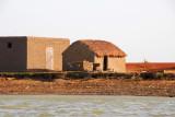 Typical riverside hut, Mali