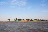 Looking across the Niger River during the season of high water