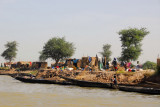 Fishing village along the Niger River