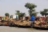 Village along the Niger River, Mali