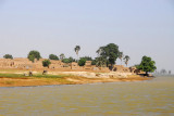 North bank of the Niger River downstream from Mopti