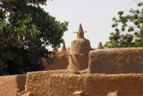 Mudbrick mosque, north bank, Niger River, Mali