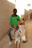 Young man on a donkey, Kotaka