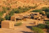 Mudbrick huts, Labbézanga, Niger