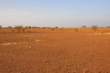 It looks desolate and empty, but within minutes of our arrival, we had guests visit the camp