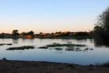 The Niger River at Ayorou, Niger, early morning