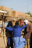 Turbaned locals, Ayorou