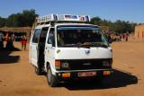 Public transport minibus, Ayorou, Niger