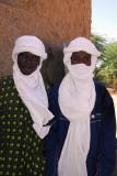 Men in turbans, Ayorou, Niger