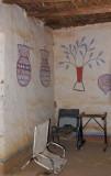 Wall paintings, Ayorou hotel