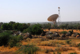 Contract - grass huts and a satellite communication center near Niamey, Niger