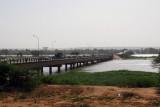 Kennedy Bridge over the Niger River, Niamey, Niger