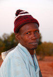 A man from Niger with an interesting tatoo pattern on his face