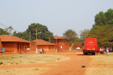 Rotel parked at the Royal Palace of Abomey