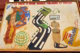La Poste a votre service toujours et partout, Abomey, Benin