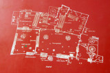 Plan of the Royal Palace of Abomey, Benin