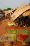 Peppers, Abomey market, Benin