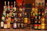 Liquor shop, Abomey, Benin