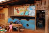 Nescafe ad, Abomey, Benin