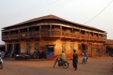 Paved corner, Abomey, Benin