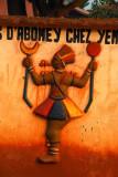 Bas-relief, Chez Yemadje, Abomey