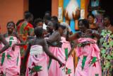 Festival dancers, Benin