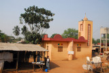 While now deep in Christian Benin, there are still many small mosques like this one in Paouignan
