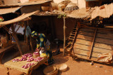 Market stall, Bohicon, Benin