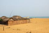 Fisherman's huts, Grand Popo, Benin