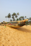 Fishing boat, Grand Popo, Benin