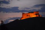 Arabic Citadel, Palmyra, at dusk