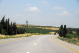 A short distance esat of Al-Fruqlos, the road enteres an more fertile region