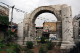 Roman Arch in the center of the Old City of Damascus, Straight Street